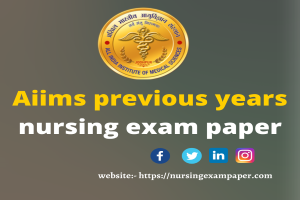 Aiims previous years exam paper