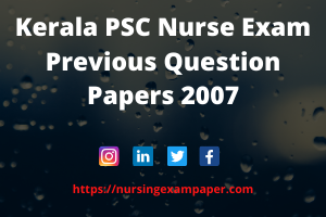 Kerala PSC Staff Nurse, kerala psc for nurses