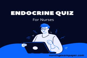 endocrine quiz for nurses