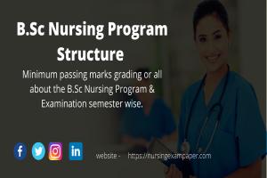 B.Sc Nursing Program, Structure & Examination