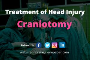 craniotomy surgery procedure