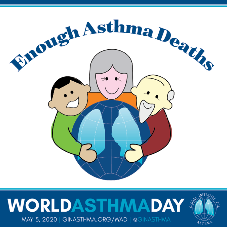 World asthma day and theme 2020